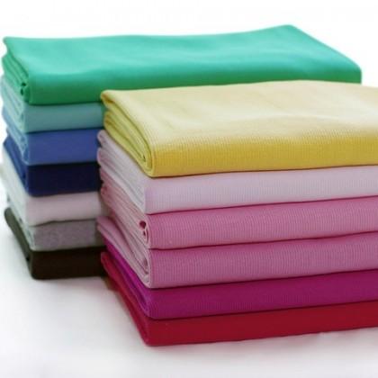 *901999* Plain Rib knit fabric for neck line, waist, cuffs etc - 2x2
