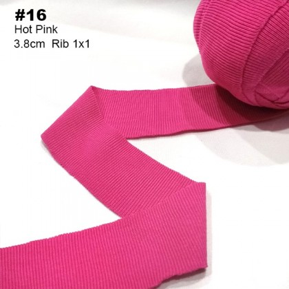 2 Meters Binding Tape Rib 1x1 Knit Spandex For Neck Line, Sleeve, Cuff *70201*