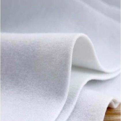 1m Single Sided Glue Batting 180g / 280g Iron Kain Gam Melekat Handmade Bag Support (60176)